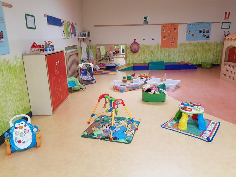 sala giochi asilo nido torino